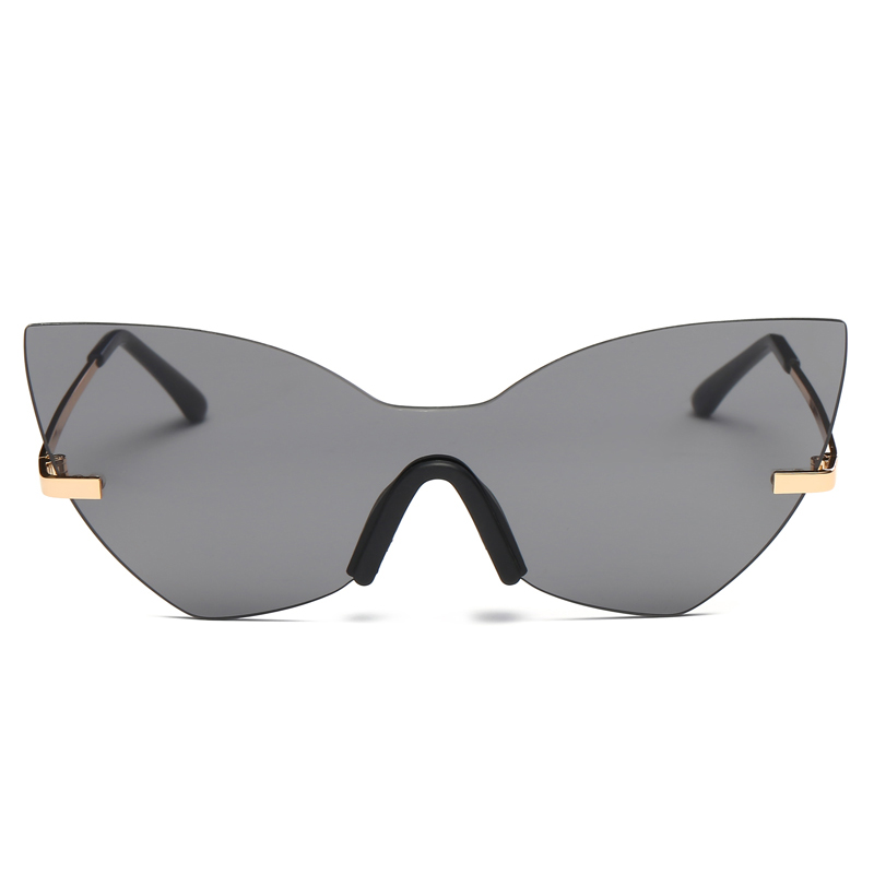 Cat eye Women Sunglasses Vintage Oversize Goggle Glasses Luxury Brand Designer Summer Style Glasses Newest Women Men Eyewear