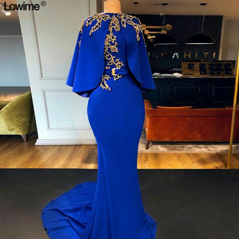 Muslim High Neck Long Sleeves Mother Of The Bride Dresses Mermaid Wedding Party Dress Lace Mother Dresses With Jacket