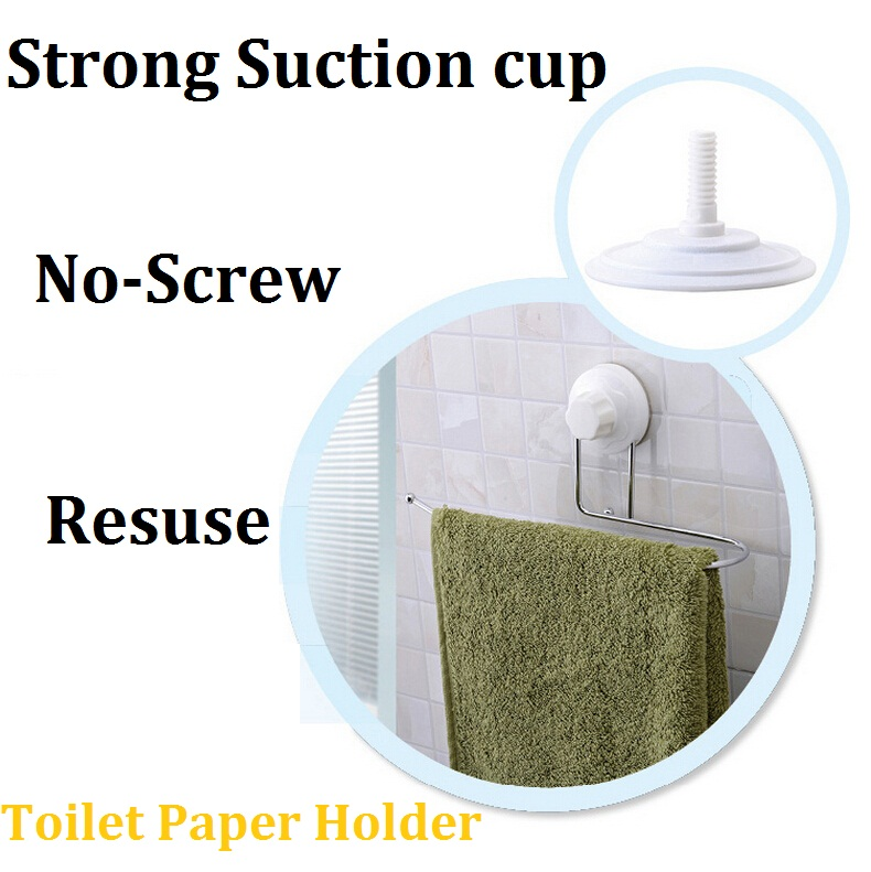 Aliexpress Com Buy Strong Suction Cup Toilet Paper Holder