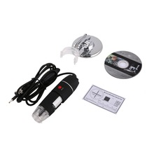 8 LED Digital Microscope Three in One USB Endoscope