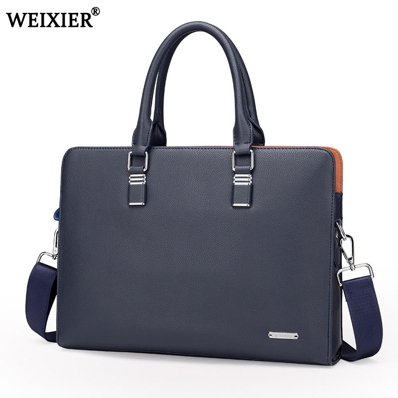 Wholesale Genuine Leather Men Briefcases Brand Fashion Men s Crossbody Bags High Quality Male Messenger Bags Wholesale Genuine Leather Men Briefcases Brand Fashion Men's Crossbody Bags High Quality Male Messenger Bags 2019 New arrival