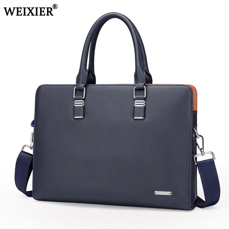 Wholesale Genuine Leather Men Briefcases Brand Fashion Men s Crossbody Bags High Quality Male Messenger Bags Innrech Market.com