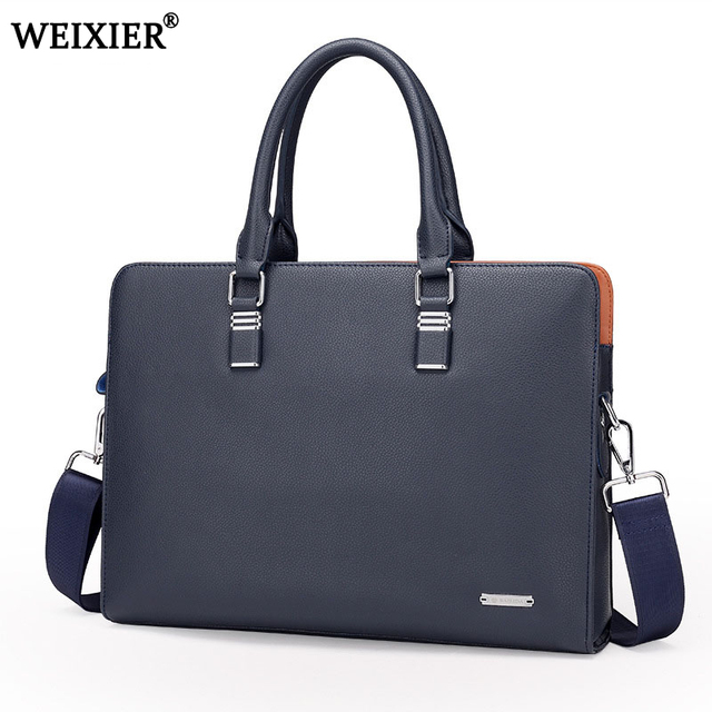 Wholesale Genuine Leather Men Briefcases Brand Fashion Men s Crossbody Bags  High Quality Male Messenger Bags 2019 New arrival 28f131c3d677