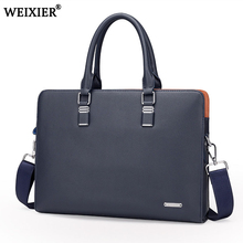Wholesale Genuine Leather Men Briefcases Brand Fashion Men's