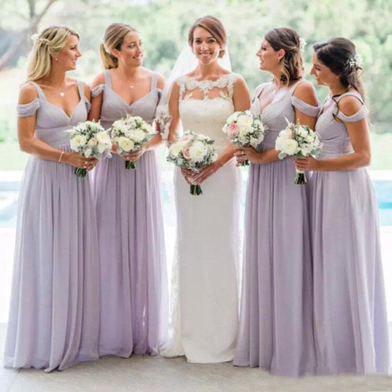 Buy wedding bridesmaid dresses lavender and get free shipping on  AliExpress.com 25ce3e684170