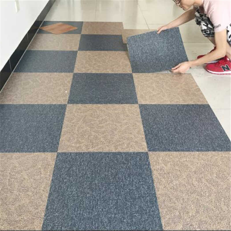 beibehang pvc flooring leather self-adhesive floor paste home plastic thick wear-resistant waterproof leather flooring plastic