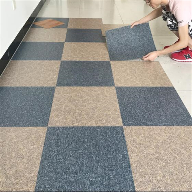 Beibehang Pvc Flooring Leather Self-adhesive Floor Paste Home Plastic Thick Wear-resistant Waterproof Leather Flooring Plastic