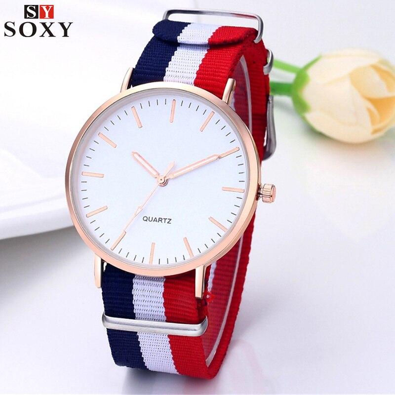 Hot Sale Nylon Strap Watch Men Watch Ultra Thin Men's Watch Fashion Sport Men's Watches Clock Reloj Hombre Erkek Kol Saati