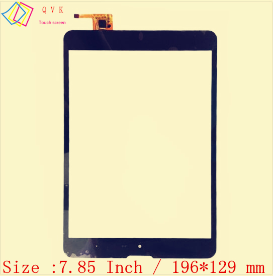 7.85 Inch for ZTE Pad E8Q /3Q Q-pad MT7801C / TOMATO T1 tablet pc capacitive touch screen glass digitizer panel Free shipping 3q quba sp101m black