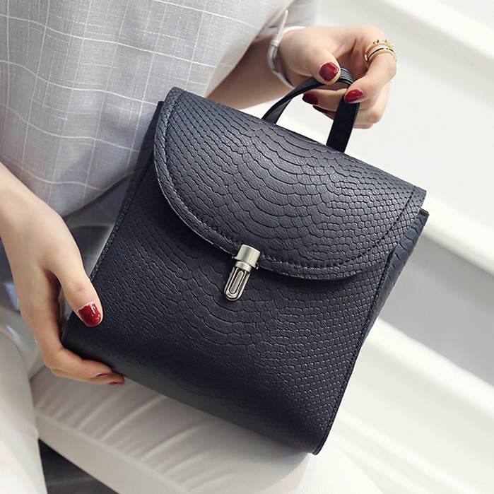 ФОТО The new 2016 mortise lock crocodile pu shoulder bag lady bag simple fashion wild solid retro covered square package  zs414