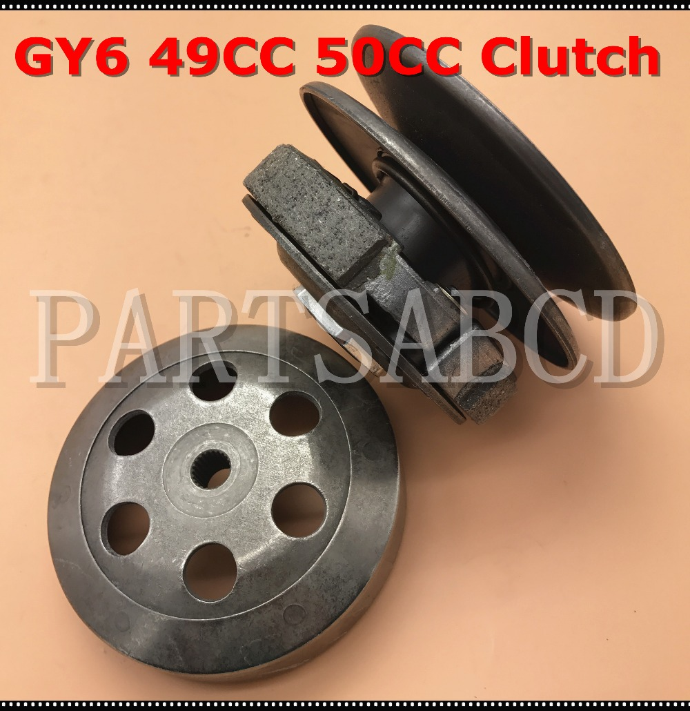 medium resolution of driven clutch pulley assembly cvt gy6 49cc 50cc moped scooter atv 139qmb clutch assy in atv parts accessories from automobiles motorcycles on