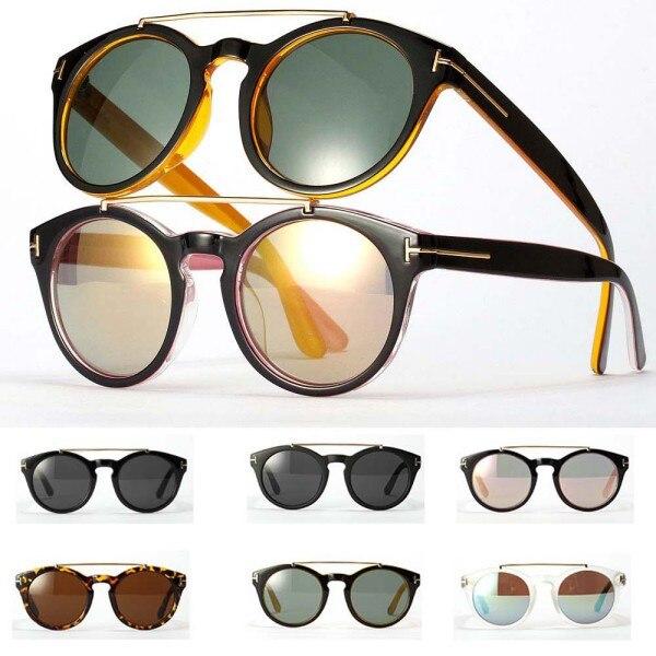 Mujeres calientes Retro Doble Puente Completo Llanta gafas de Sol de  Diseñador de la Marca de Gafas de Metal Marco de Las Lentes 2017 L4 H2 en  Gafas de sol ... 0a3bcf1704