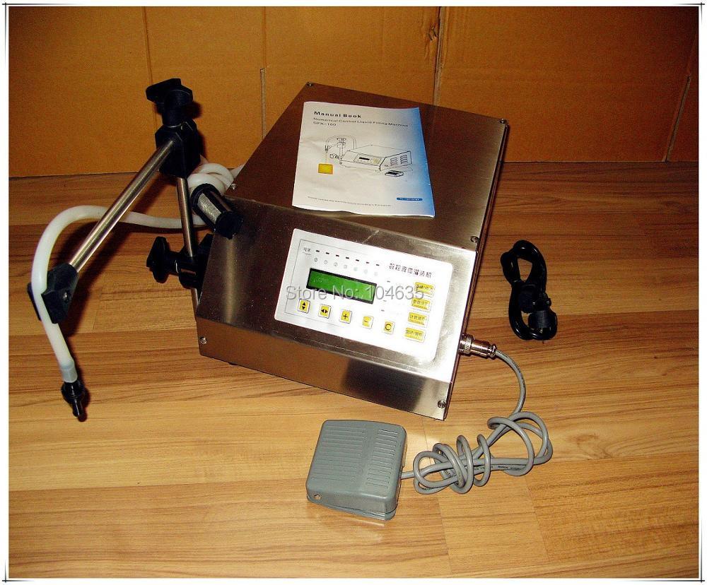 Небольшой электрический контроль наполнения machineDigital насос пить воду, сок разливочная машина 5-3500ml