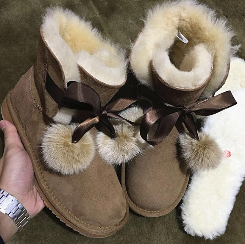 2018 brand new style ball boot geniune sheep skin snow boots winter middle tube warm waterproof real fur women boots brand name flexible flyer snow twist inflatble snow tube sports tube winter ski circle sledge twist for 2 person 2015 new style