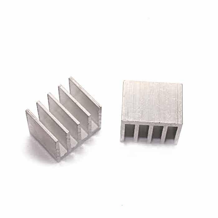 Free Shipping Wholesale 100PCSc Aluminum Heatsink 15*20*16MM High Quality Radiator Block IC Heatsink IC Thermal Block