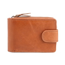Wholesale Card Holder Genuine Leather Card Id Holders Zipper Hasp Wallet Femal Wallet Women Brand Card Case Driving License Bag contact s brand genuine leather women wallet zipper