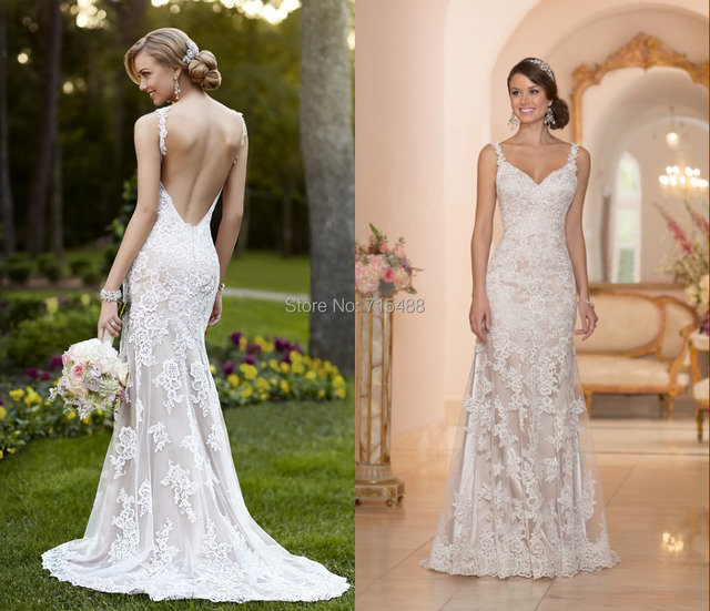 Lace Custom Made In China Backless atractivo del envío patrones en ...