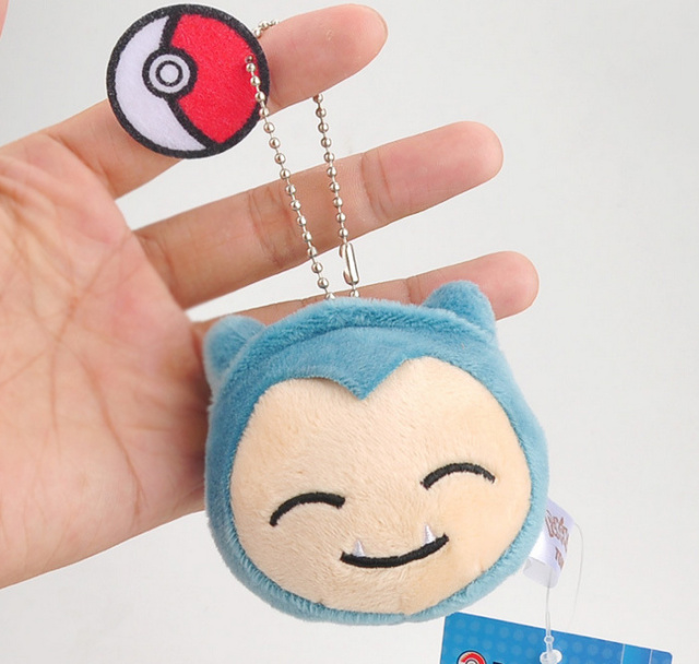 HOT 6 Designs IN 7CM Approx. – Stuffed Pikachu Plush Toy , Bulbasaur , Squirtle Etc. Delicate keychain Gift Plush Toy Doll