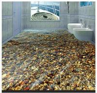 3D Wallpaper Custom 3d Flooring Murals Wallpaper Beauty 3 D Cobble Floor Tile Decoration Pvc Wallpaper