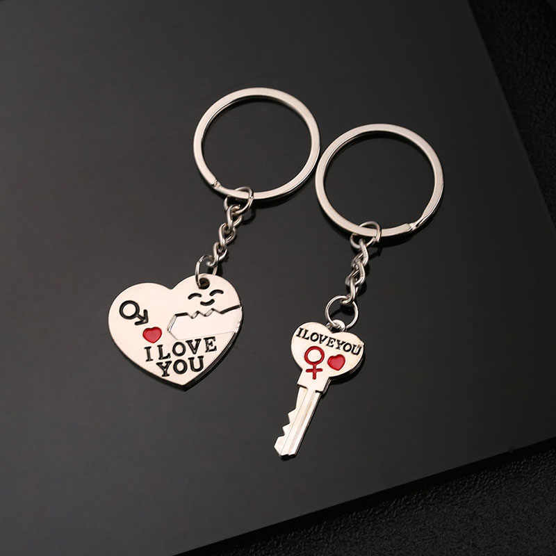 2 предмета любовь пару брелок ты мой человек ключевое звено сердце брелок для любителей лучшие друзья Llaveros для audi a4 a6 a3