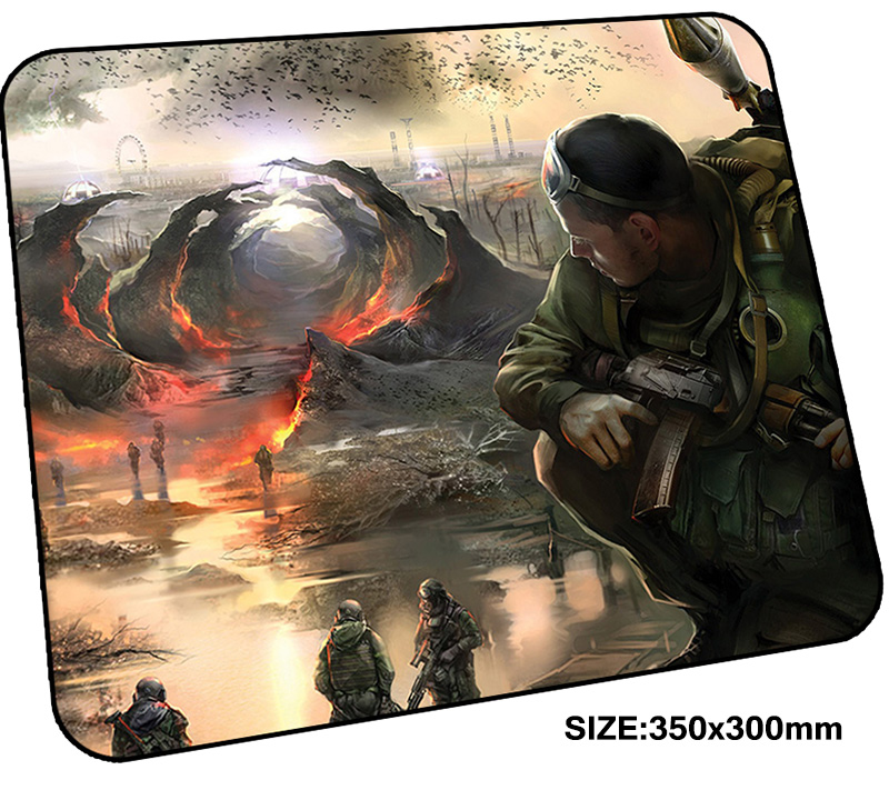 stalker mousepad gamer 350x300x3mm gaming mouse pad Halloween Gift notebook pc accessories laptop padmouse Fashion ergonomic mat ...
