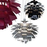 DHL доставка современный подвесной светильник креативный Hanglamp для столовой домашнего освещения светильники Avize ширина 50 100 см