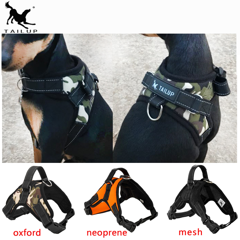 [TAILUP] Pet Products for Large Dog Harness k9 Glowing Led Collar Puppy Lead Pets Vest Dog Leads Accessories Chihuahua PY0007 k9 puppy gold