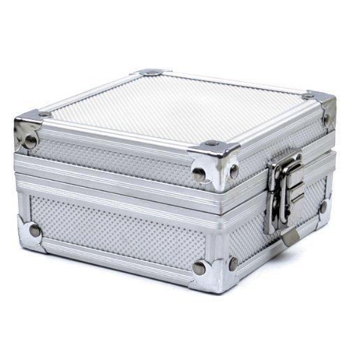 New Arrival Professional Aluminum Tattoo Machine Gun Grip Tube Tip Box Case Kit Supply Tattoo Accesories