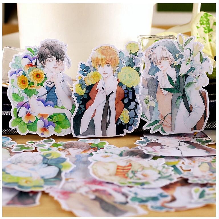 20pcs Creative Kawaii Self-made Tricks Man Stickers/ Beautiful Stickers /decorative Sticker /DIY Craft Photo Albums