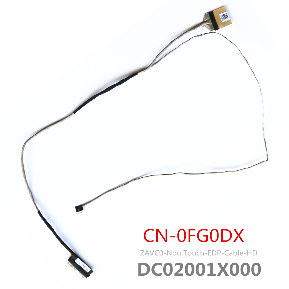 New Original EDP Lcd Cable For Dell Inspiron 5455 5545 5547 5548 FG0DX P39F Lcd Lvds Cable CN-0FG0DX DC02001X000