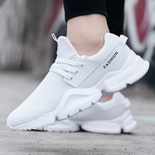 цены 2019 Men Vulcanize Casual Sneakers Fashion Shoes Man Lace Up Mesh Fabric Flats Male Patchwork Comfortable men loafers