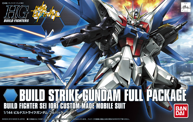 1PCS Bandai HG Build Fighters HGBF 001 1/144 Build Strike Gundam Mobile Suit Assembly Model Kits Anime action figure Gunpla sap 0237