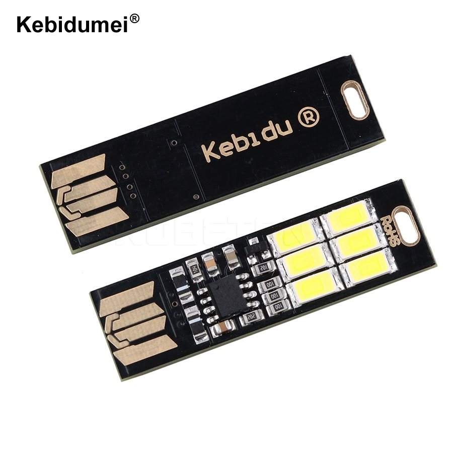 Consumer Electronics Chargers Hearty Kebidu 5v 1w Ultra Bright Portable Pocket Cool Mini Usb Led Light Usb Keychain Touch Dimmer Led Lamp For Power Bank Pc