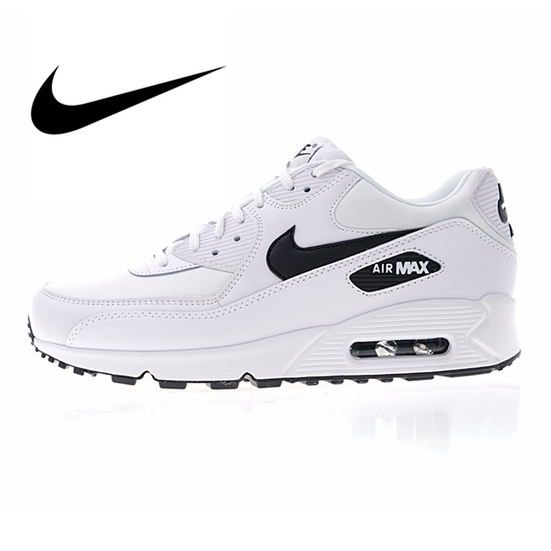 Original Authentic Nike AIR MAX 90 Women's Running Shoes Breathable Outdoor Sports Shoes Comfortable 2019 New 325213-131/031