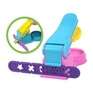 Image 4 - צבע לשחק בצק דגם כלי צעצועי Creative 3D פלסטלינה כלים Playdough סט חימר תבניות Deluxe סט, למידה חינוך צעצועים