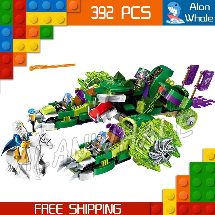 392pcs The War Human VS Elves Archmage Antonidas Ancient Wolf Druid Model Building Blocks Games Toys Bricks Compatible with lego