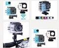 Actualización SJ4000 WIFI cámara de la acción Full HD 1080 P 13MP 170 degree gran angular DV buceo 30 M impermeable del casco del deporte extremo cámara