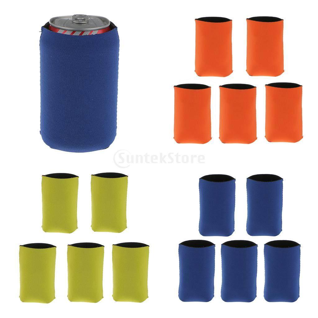 5pcs Neoprene Cooling Beer Drinks Bottle Tin Can Cooler Sleeve Holder  Orange Wedding Party Favour Supplies 934480cbb7f6