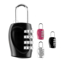4 Наберите цифру безопасности паролем Комбинации цинковый сплав замок чемодан Чемодан кодовый замок шкаф Кабинет шкафчик навесной замок