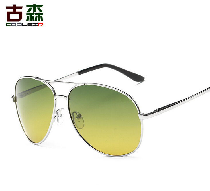 COOLSIR POLARIZED Sunglasses brand designer men driving font b Night b font font b Vision b