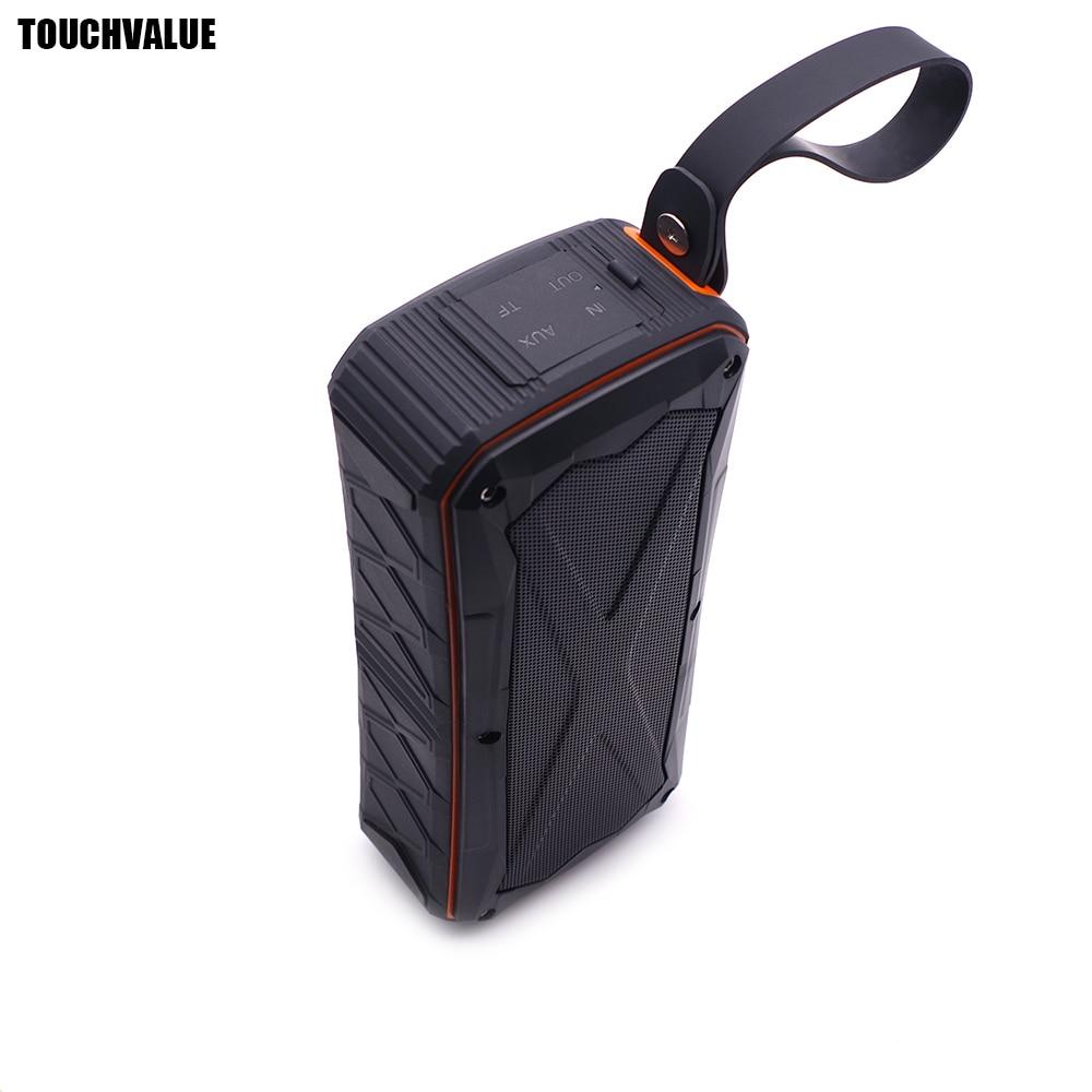 Kompetent Touchvalue Bluetooth Wasserdichte Lautsprecher Stereo Outdoor Sport Wireless Bluetooth Lautsprecher Sound-box Mit Usb Aux Interface Tropf-Trocken Outdoor-lautsprecher Unterhaltungselektronik