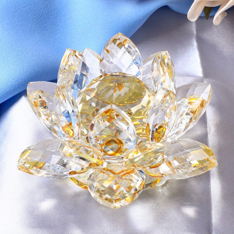 Crystal Lotus Figurine 6