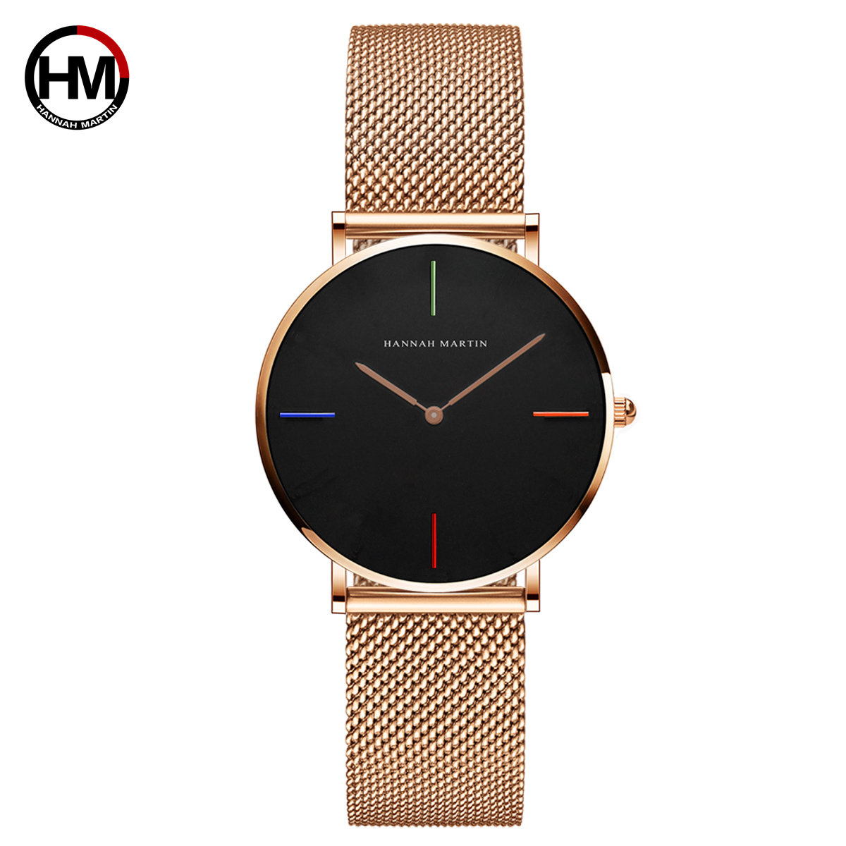 Minimalism Watch Women Luxury Brand Rose Gold Dress Quartz WristWatches Fashion Stainless Steel Clock Gift For Women reloj mujer in Women 39 s Watches from Watches