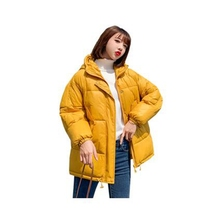 Autumn Winter Jacket Women Coat Fashion Female hooded Loose Parka Warm Casual Overcoat Parkas