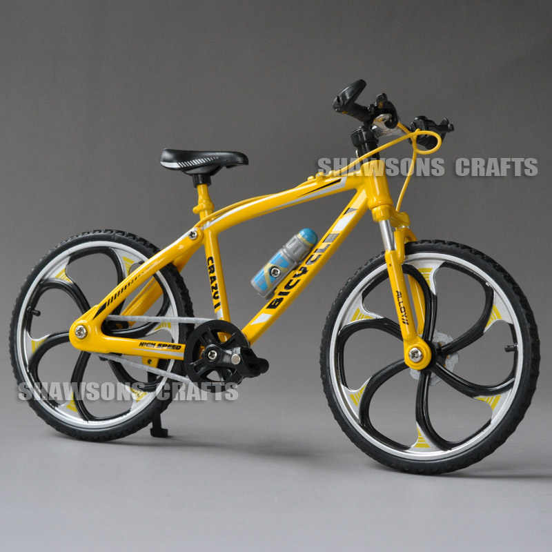 e6bff8b6d Diecast Metal Bicycle Model Toys 1 10 XC Cross Country MTB Mountain Bike  Replica Collection