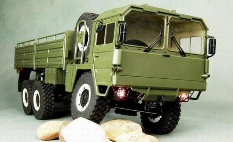 MC6 6X6 Military Off Road 6WD 1/12 Scale RC Tractor Truck