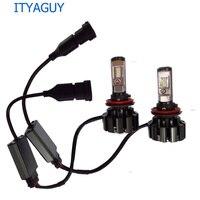 2pcs T6 Led H7 H4 Headlight Turbo Decoder Led Headlight Bulb H1 H3 H11 9005 9006