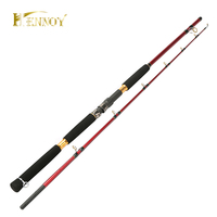 Hennoy Saltwater OffShore Heavey Spinning Fishing Rod 1 8m 2 Section Boat Spin Rod 20 45lb