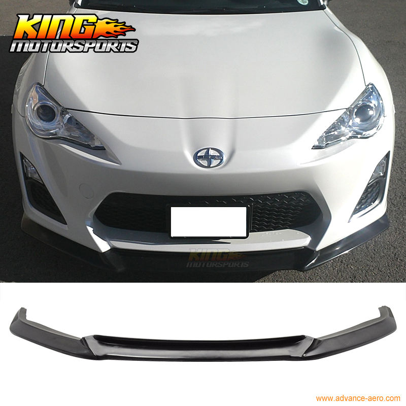 Fit For 13 14 15 16 SCION FRS FR-S GT86 GT FRONT BUMPER LIP PU 52mm racing aluminum radiator for 13 16 subaru brz frs gt86 fr s toyota sl