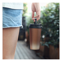 New Portable Coffee Mug 304 Stainless Steel Vacuum Mug